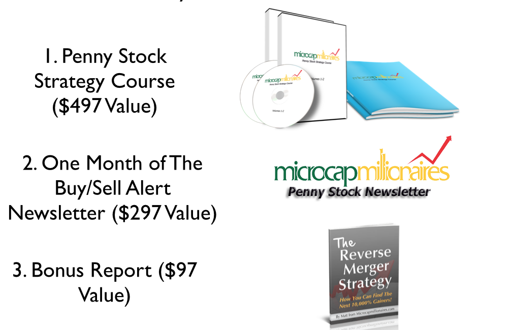 penny stock video and newsletter bargain